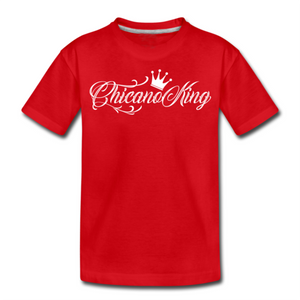 Chicano King Youth T-Shirt - Red