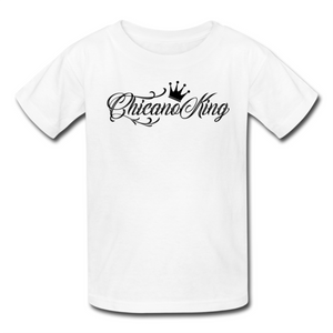 Chicano King Youth T-Shirt - White