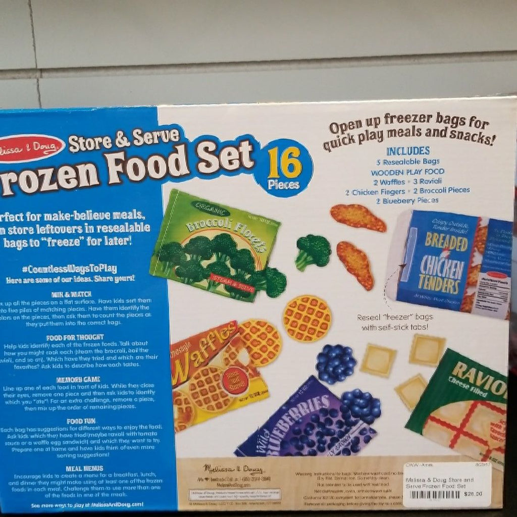 Store and Serve Frozen Food Set