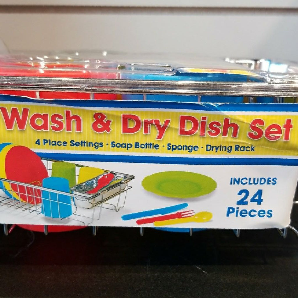 Lets Play House~Wash & Dry Dish Set