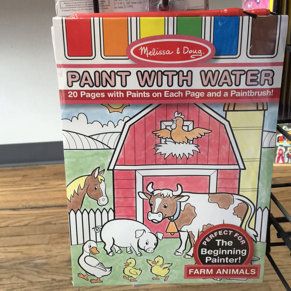 Paint With Water~Farm Animals