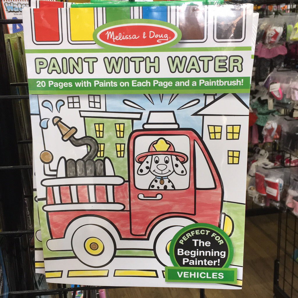 Paint With Water~Vehicles