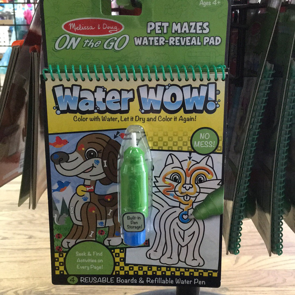 Water Wow~Pet Mazes