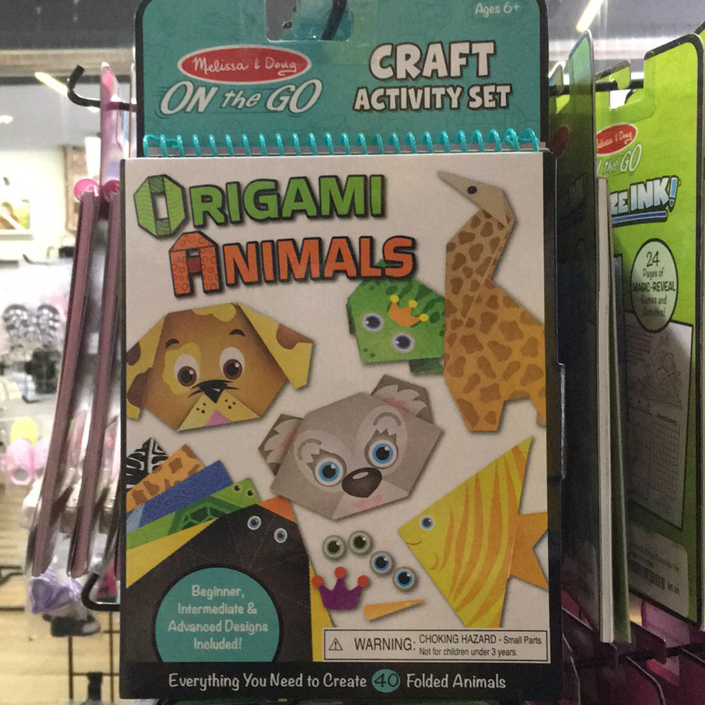 On the Go Crafts Origami Activity Set~Animals