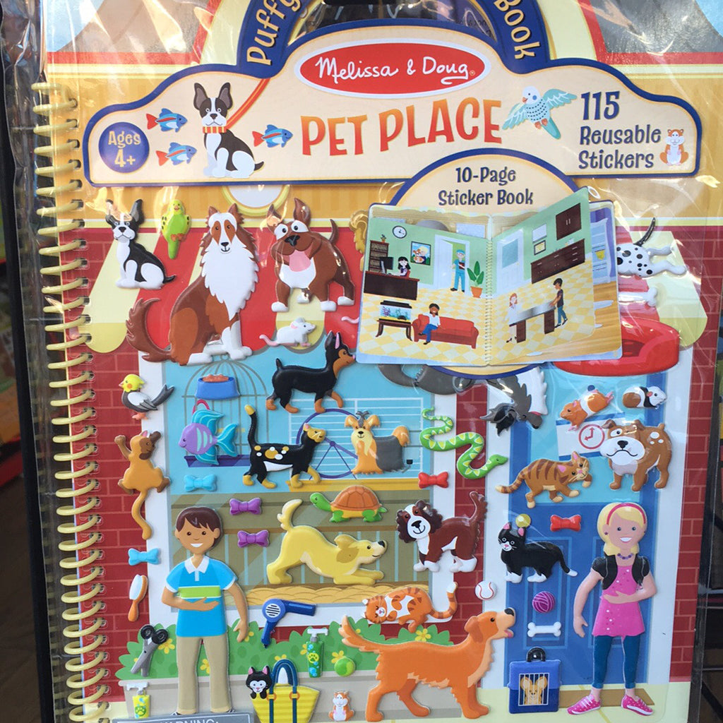 Puffy Sticker~Pet Place