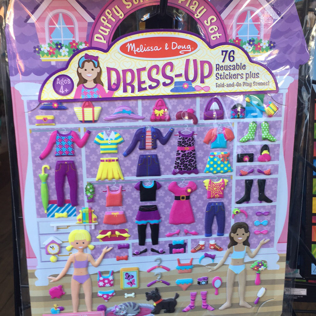 Puffy Sticker~Dress Up