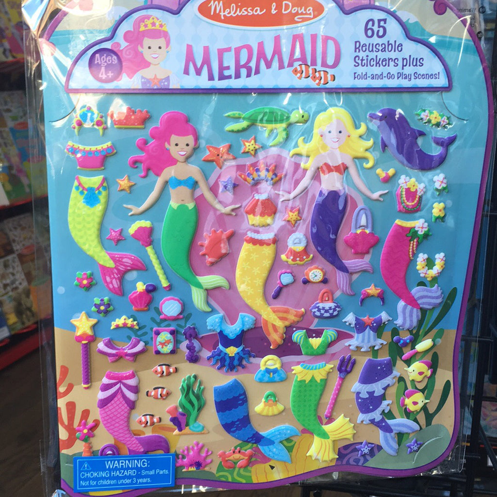 Puffy Sticker~Mermaid