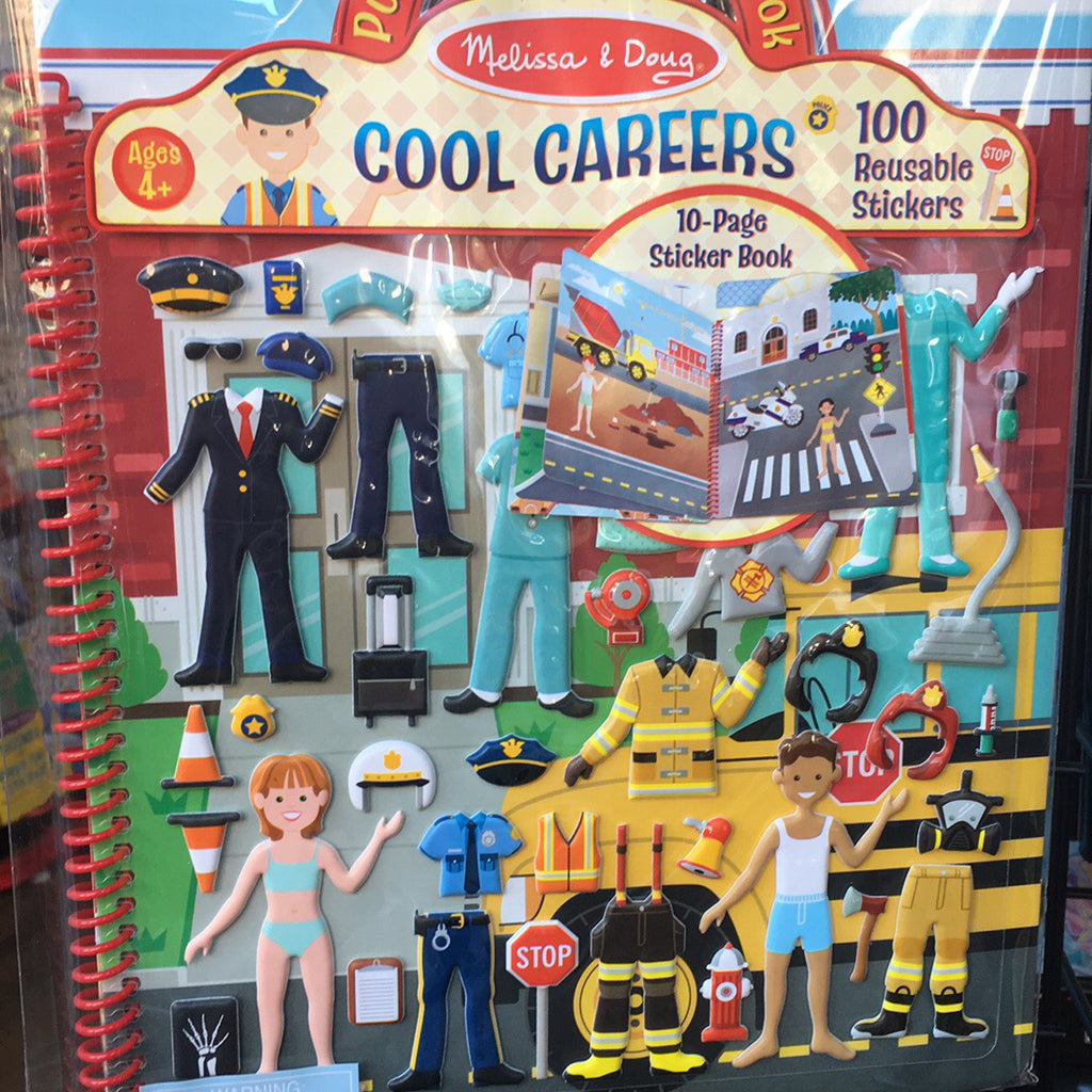 Puffy Sticker~Cool Careers