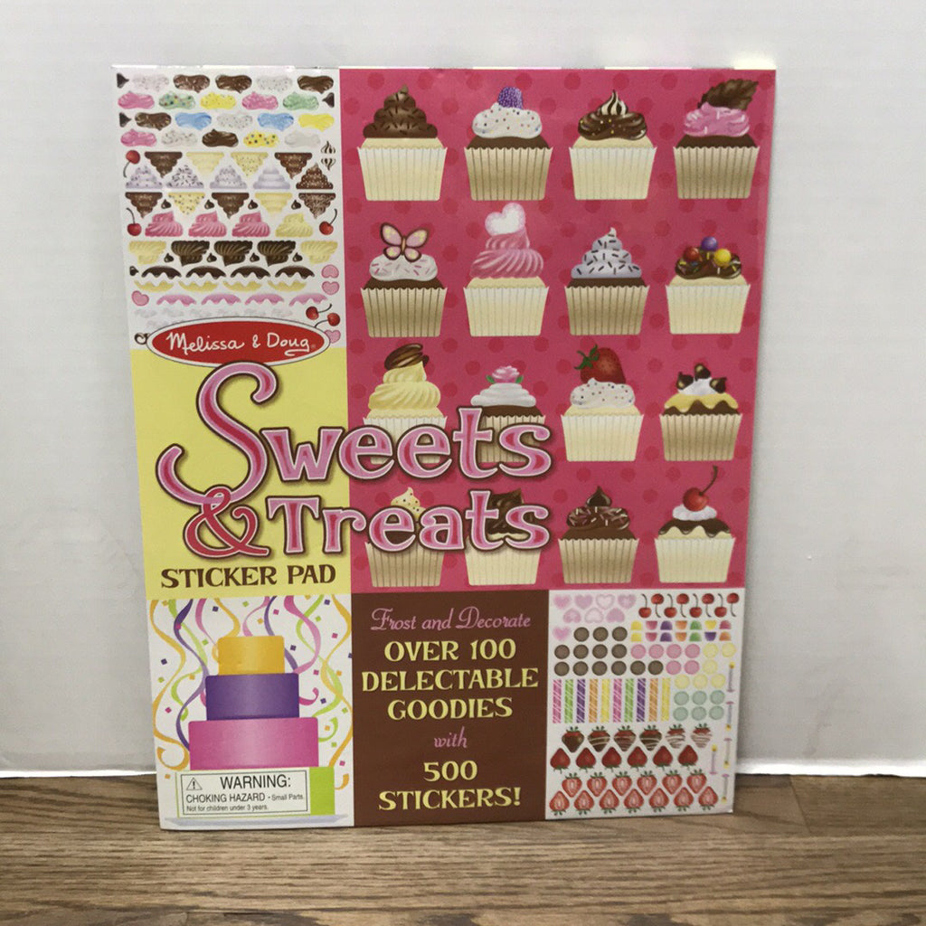 Sweet Treats Sticker Pad