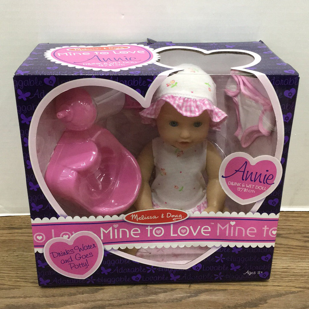 Mine to Love~Drink and Wet Doll Annie