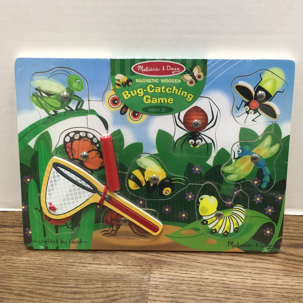 Bug Catching Magnet Game
