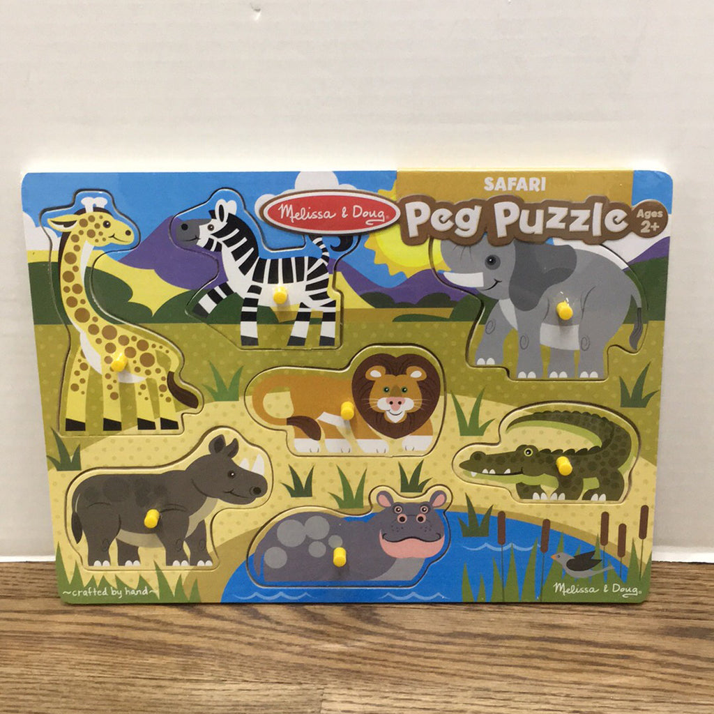 Peg Puzzle~Safari