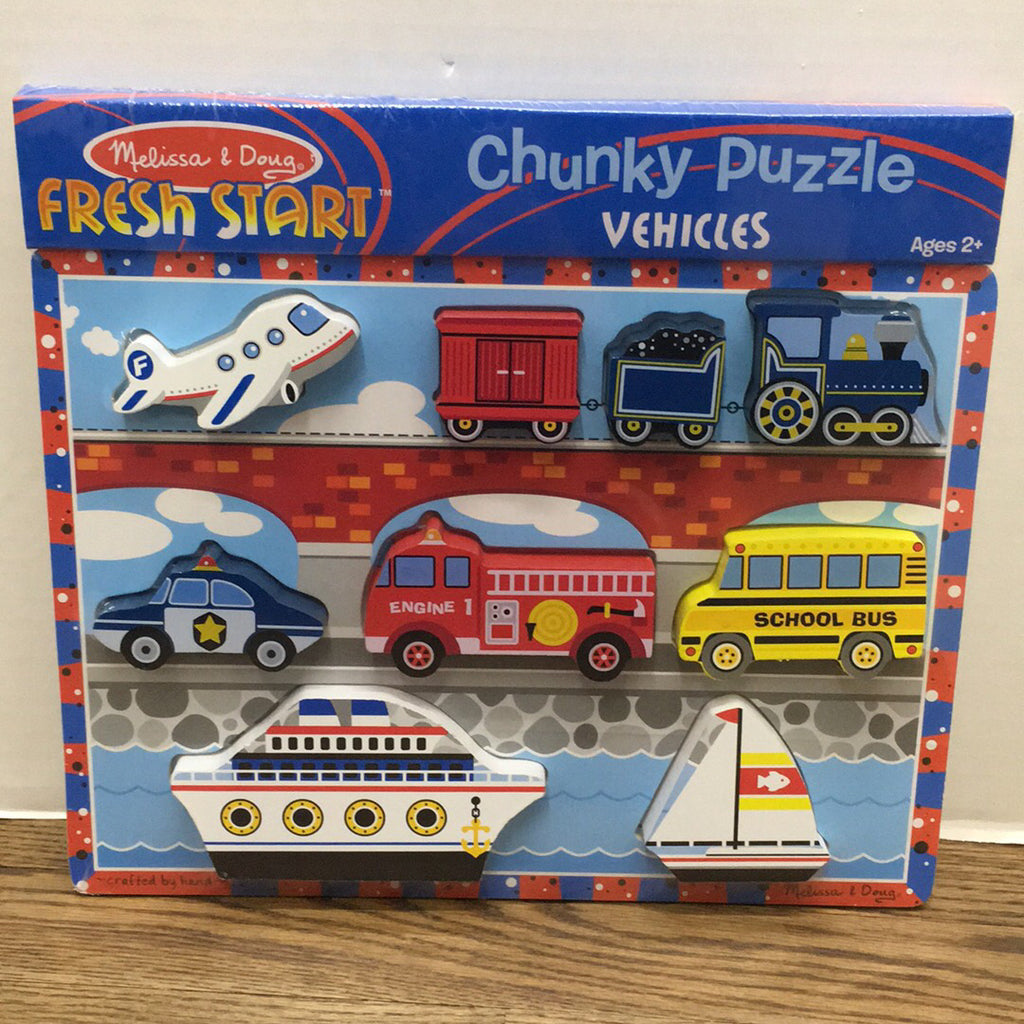 Puzzle Chunky Vehicles