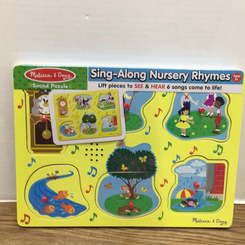 Sound Puzzle~Sing Along Nursery Rhymes Yellow