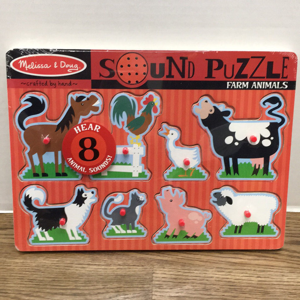 Sound Puzzle~Farm Animals