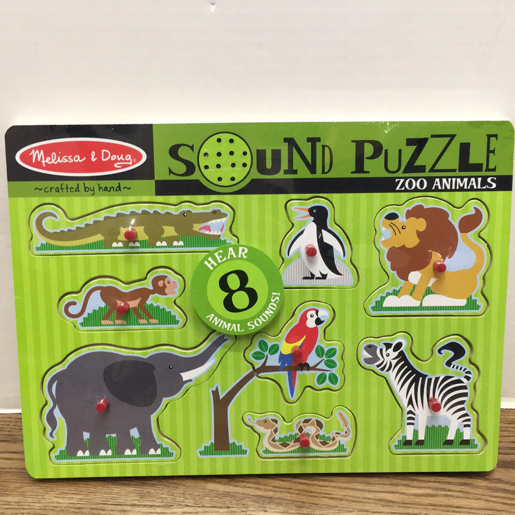 Sound Puzzle~Zoo Animals