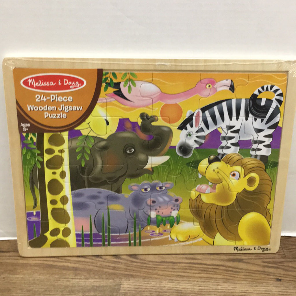 African Plains Jigsaw Puzzle 24 pc