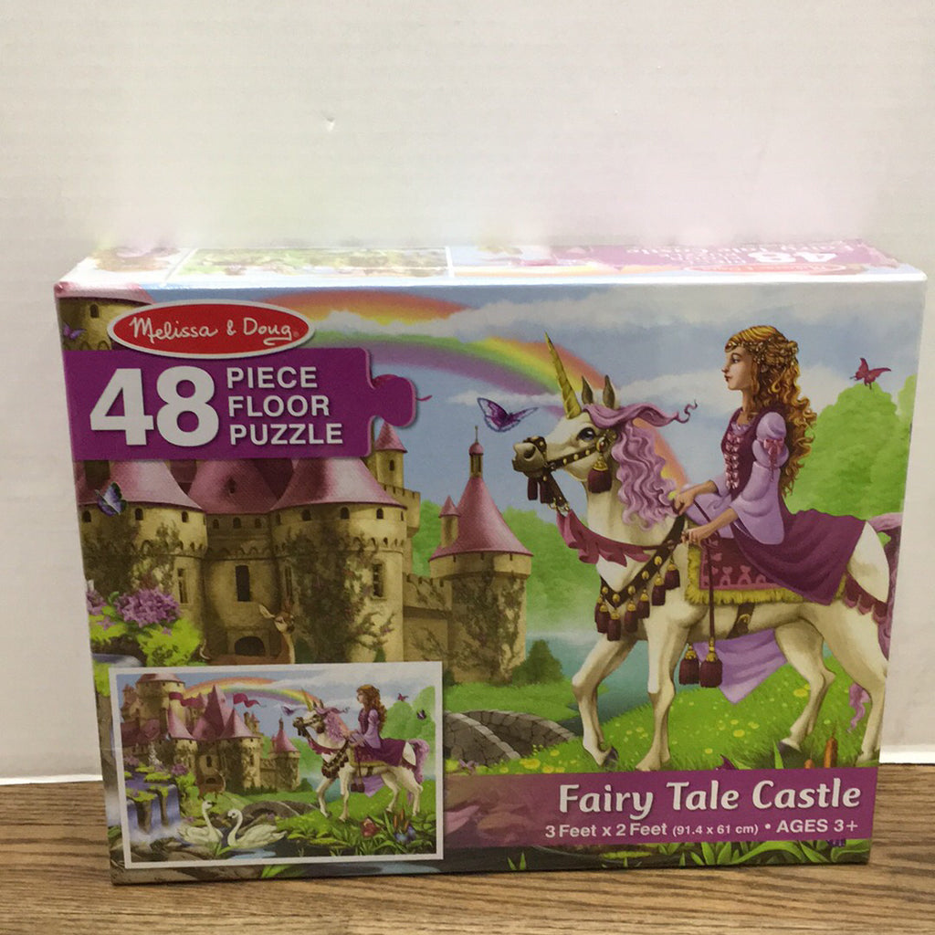 Floor Puzzle~Fairy Tale Castle 48 pc