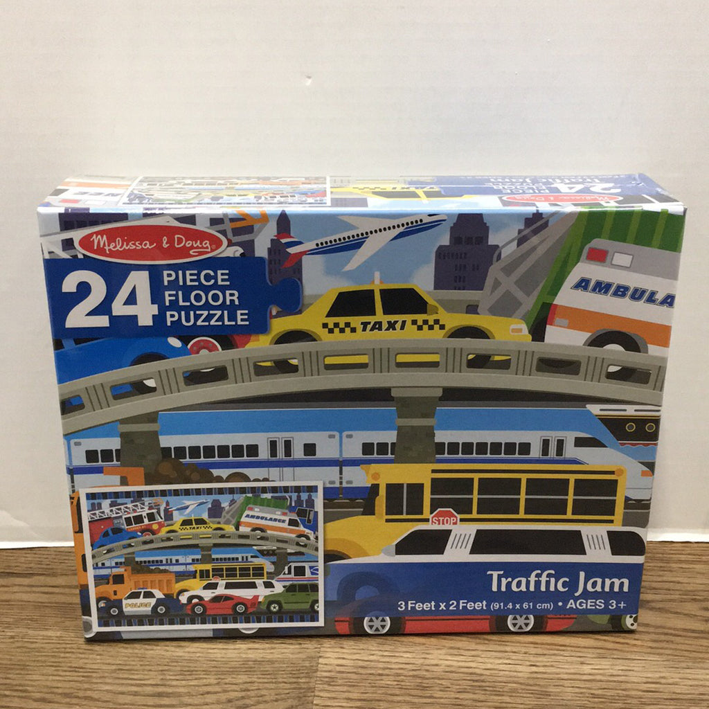 Traffic Jam Floor Puzzle 24 pc