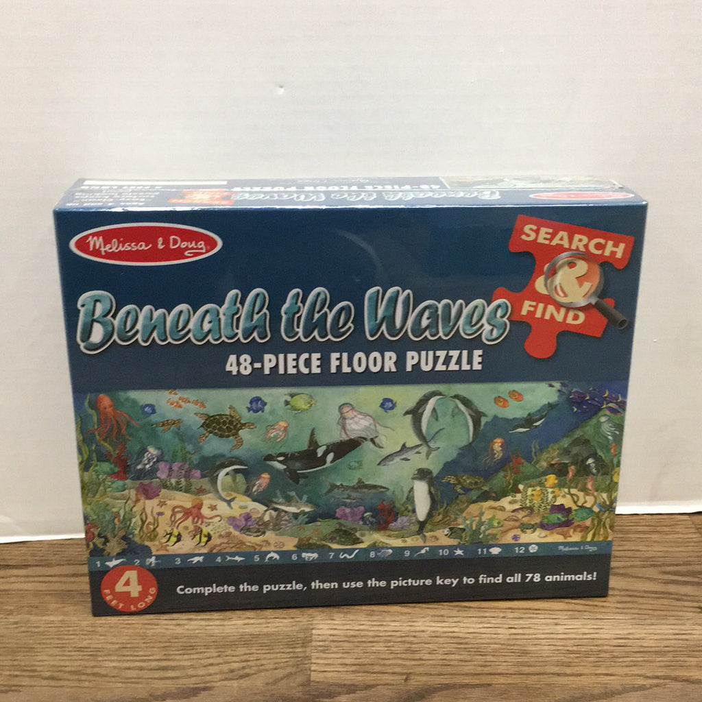 Search & Find Beneath the Waves Puzzle - 48 pcs