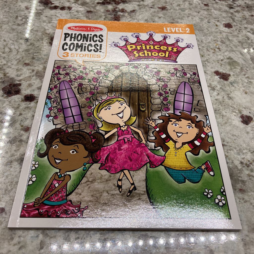 Phonics Comics~Princess School
