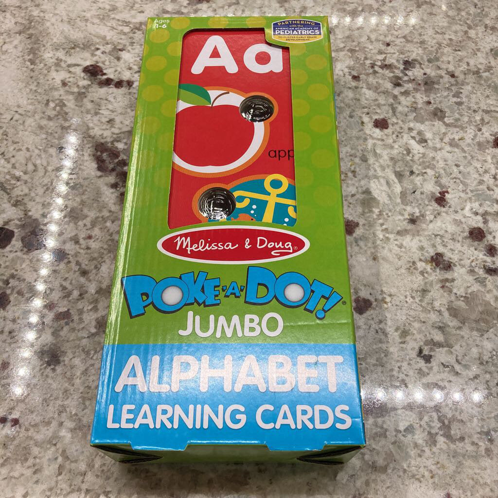 Poke a Dot~Alphabet Learning Cards