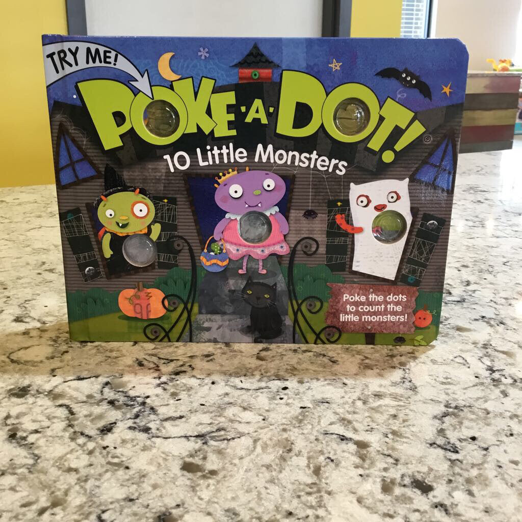 Poke A Dot 10 Little Monsters