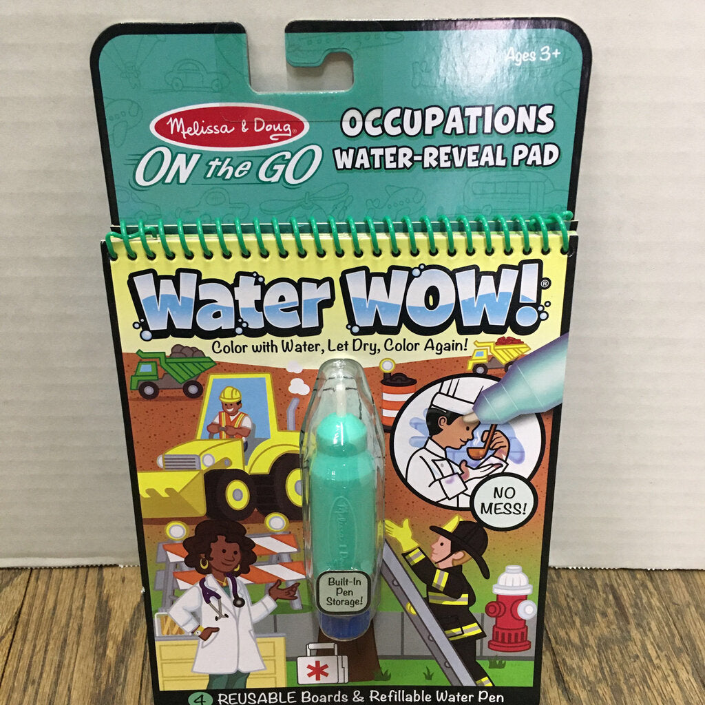 Water Wow ~ Occupations