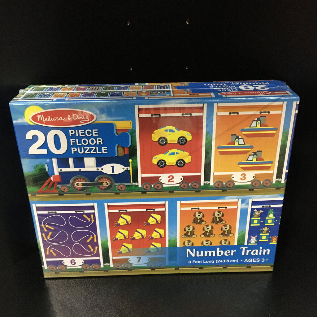 Number Train Floor Puzzle