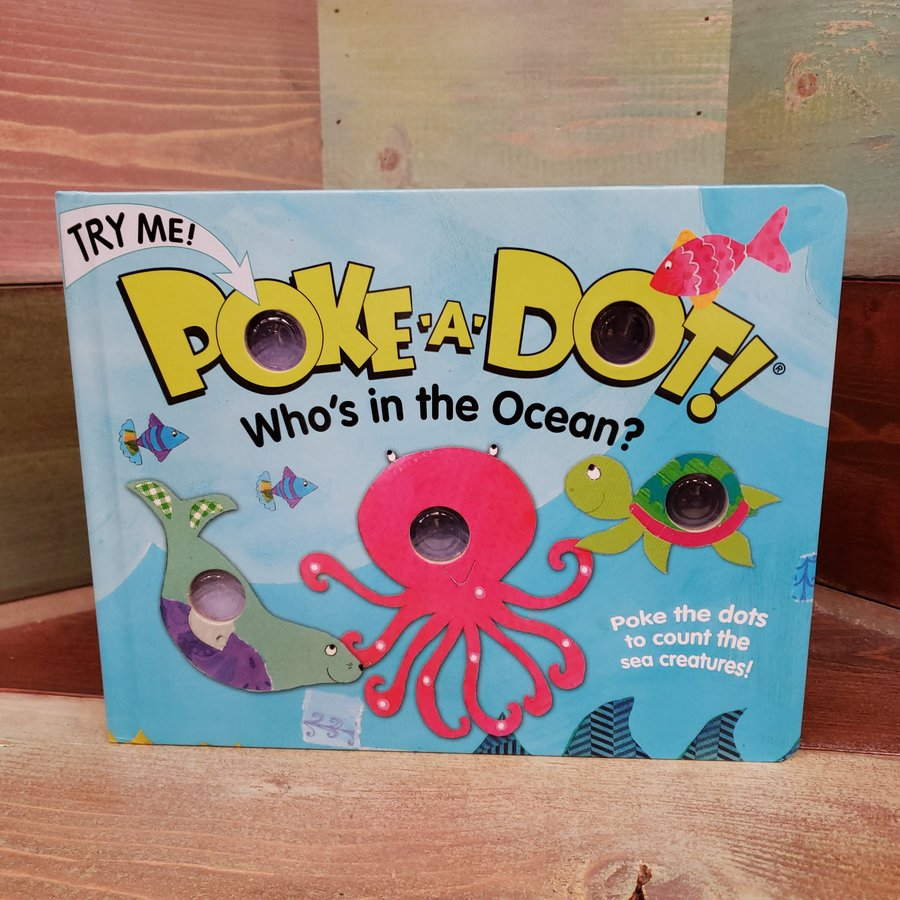 Poke-A-Dot! Who's in the Ocean