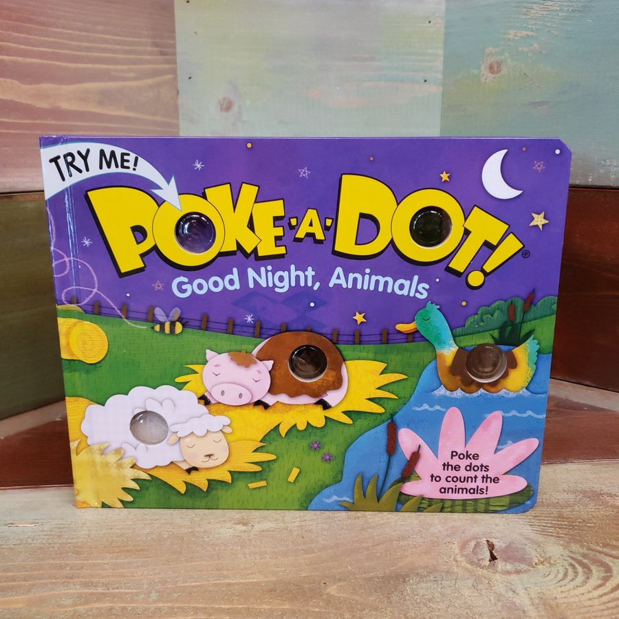 Poke-A-Dot! Good Night, Animals