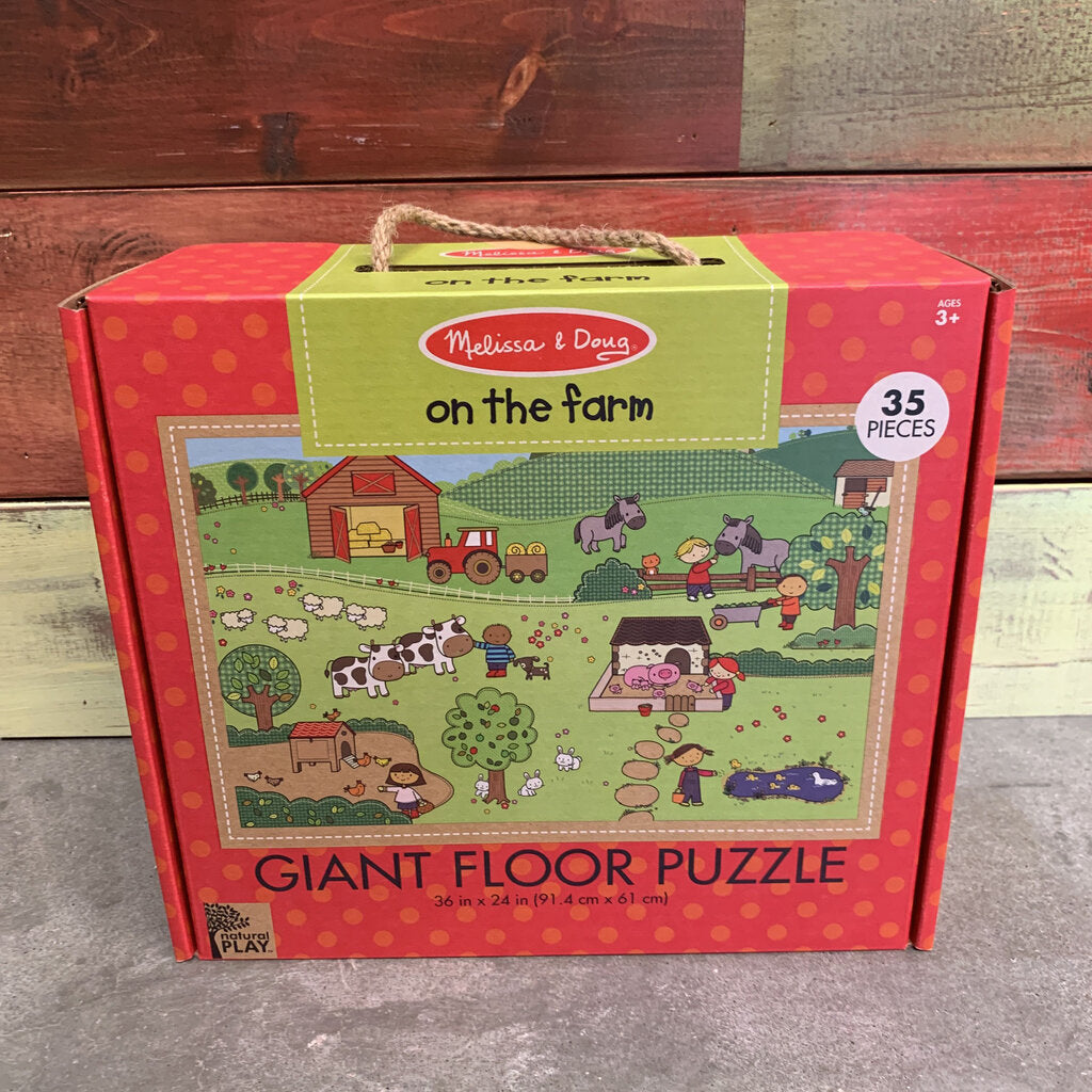 Natural Play Giant Floor Puzzle~ On the Farm