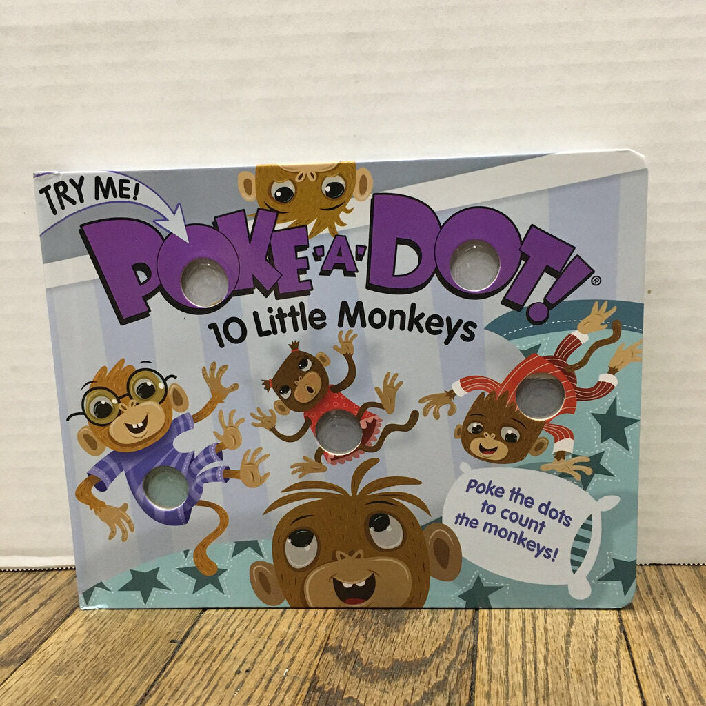 Poke a Dot~10 Little Monkeys