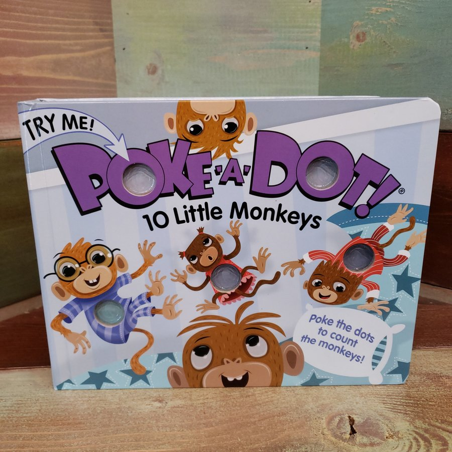 Poke-A-Dot~10 Little Monkeys