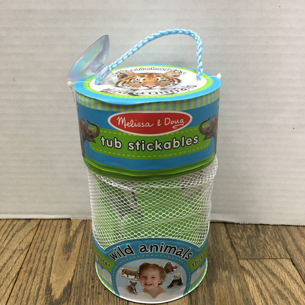 Tub Stickables~Wild Animals