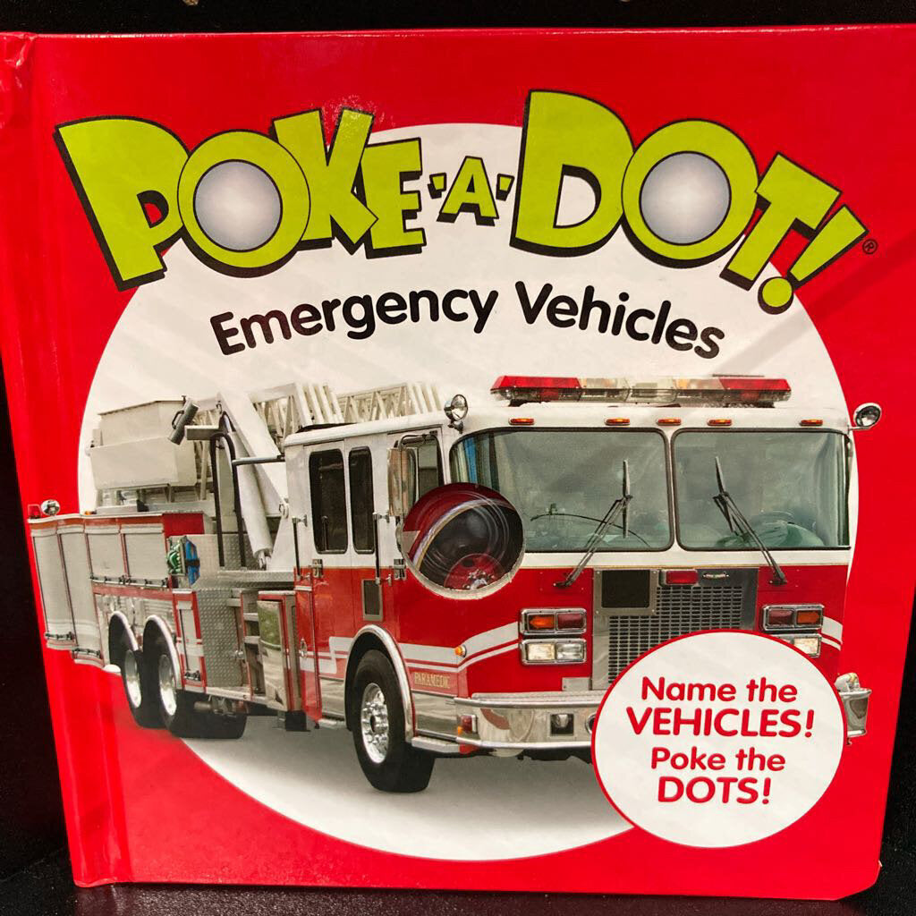 Poke a Dot~Emergency Vehicles