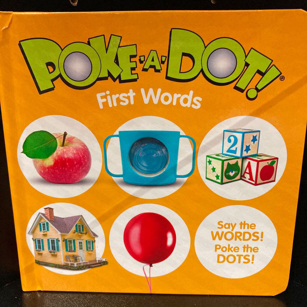 Poke a Dot~First Words