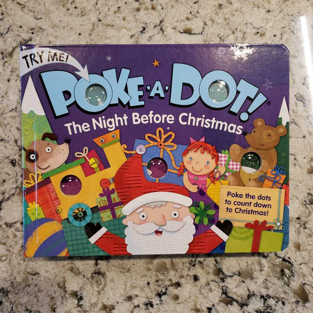 Poke-A-Dot Night Before Christmas