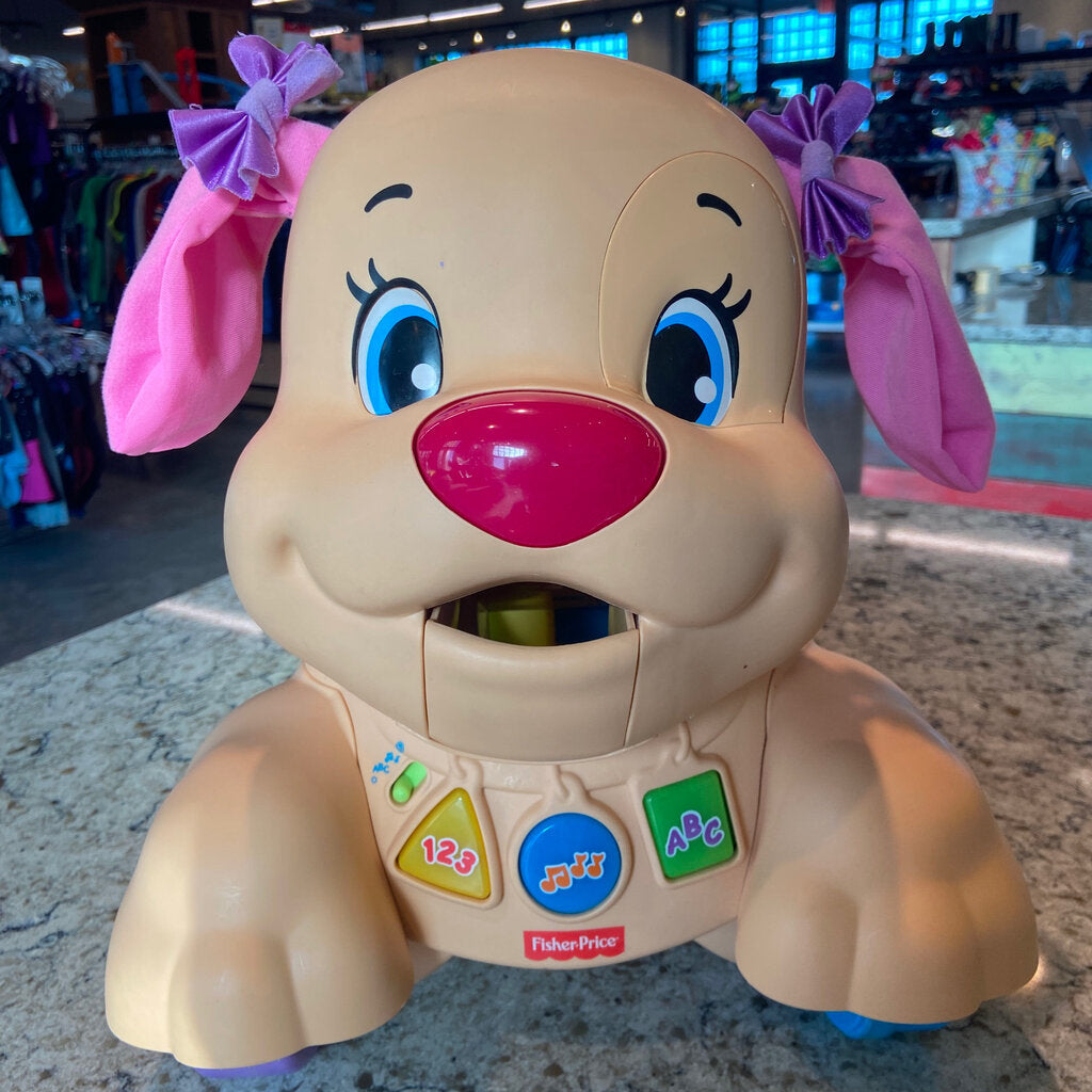 Fisher Price Smart Stages Puppy Ride On