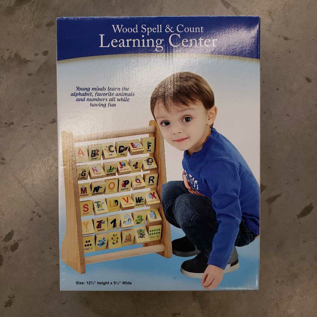 Wood Spell & Count Learning Center