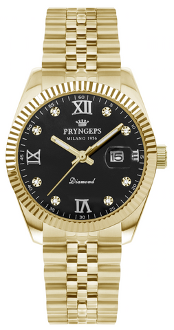 Orologio Pryngeps donna diamanti 32 mm Oro Quarzo A822/LQB Datejust