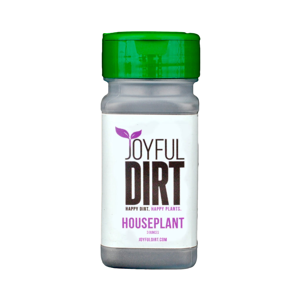 Organic Houseplant Fertilizer & Plant Food - 3 oz. Shaker