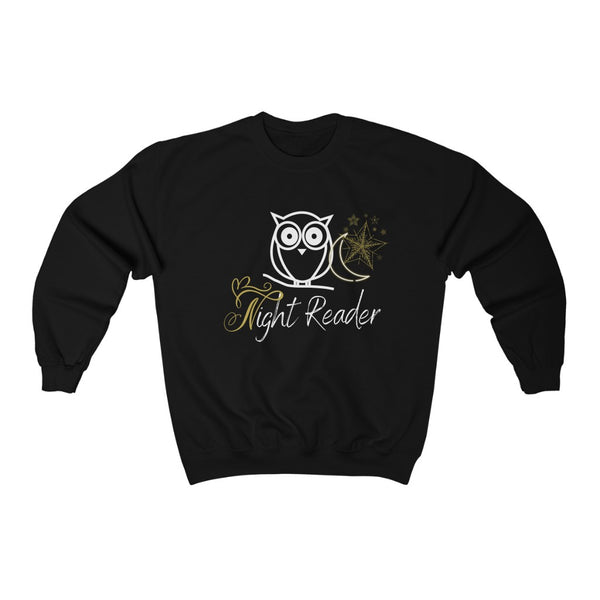 Night Reader Sweatshirt - A Bookish Haven