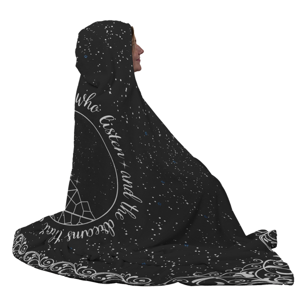 To The Stars Hooded Blanket