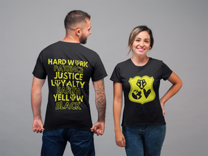Hufflepuff Pride Inspired T-shirt - A Bookish Haven