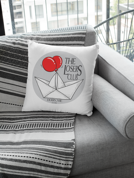 Losers Club Pillow - A Bookish Haven