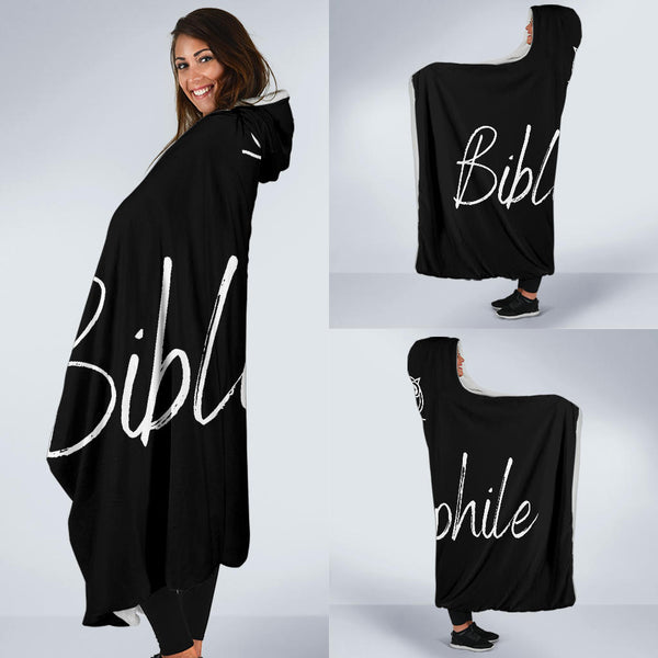 Bibliophile Hooded Blanket