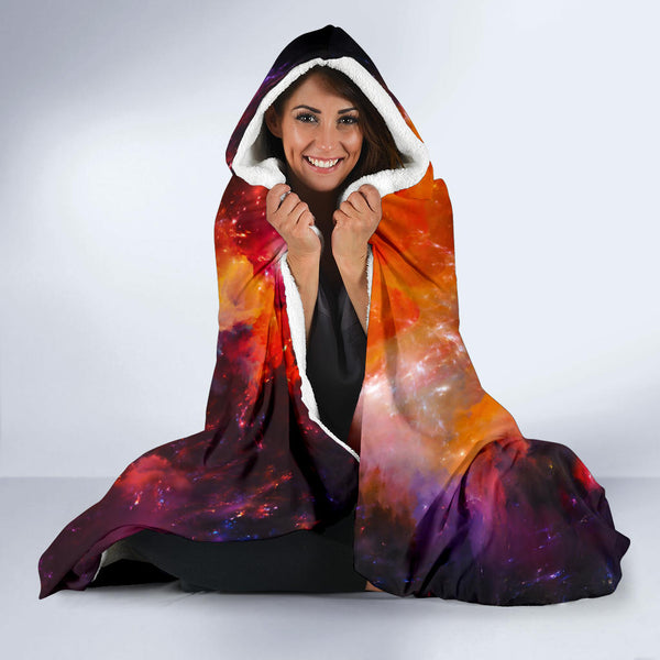 Illuminae Galaxy Hooded Blanket