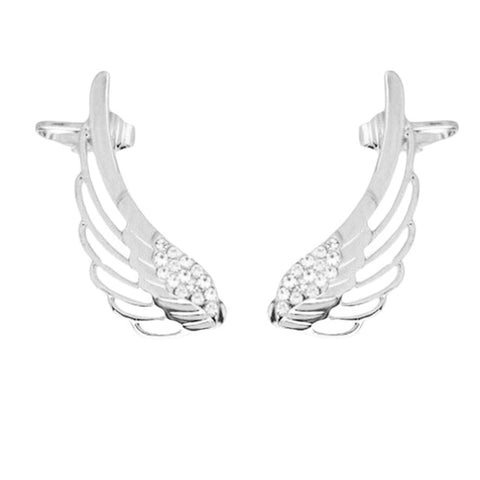 Angel Wings Cuff Earrings