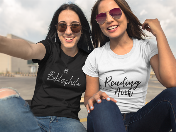 Bibliophile Short Sleeve Tee - A Bookish Haven